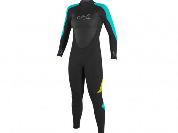 Aqua / Lunar / Deepsea warm winter wetsuit for girls & young women..