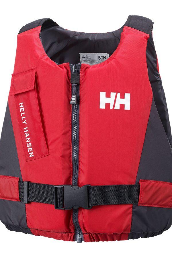 Helly Hansen Rider Vest Front Zip Easy Entry Buoyancy Aid in Red