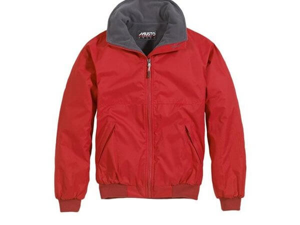 Musto Snug Blouson Jacket Red Cinder