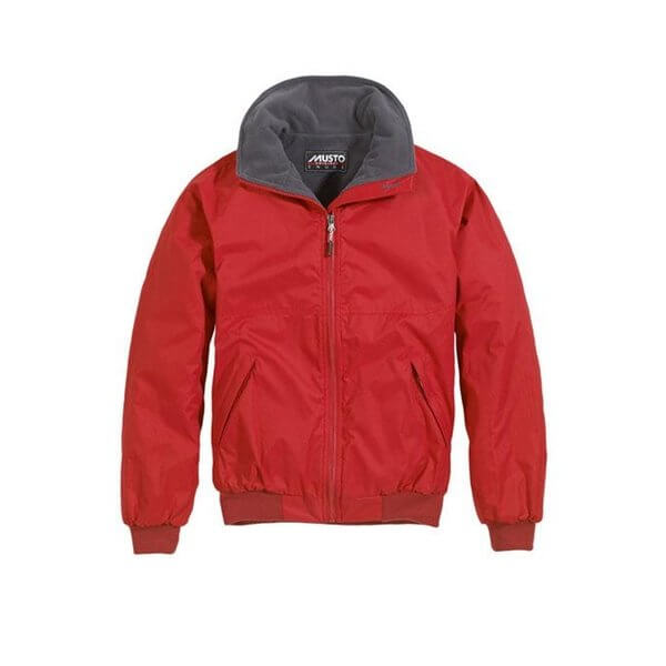 Musto Snug Blouson Jacket Red Cinder