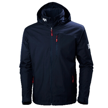 Helly Hansen Hooded Crew Midayer Jacket Navy