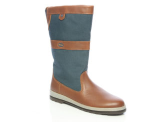 Dubarry Shamrock - Brown Leather Sailing Boots