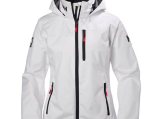 Helly Hansen W Crew Hooded Jacket White